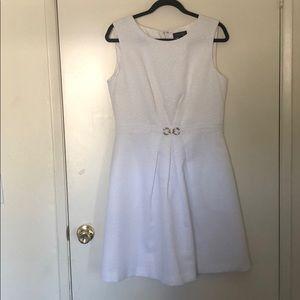 White sleeveless dress. Like new!